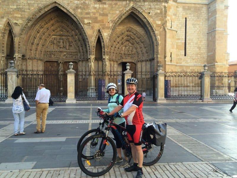 Como preparar el Camino de Santiago - peregrinos en bicicleta