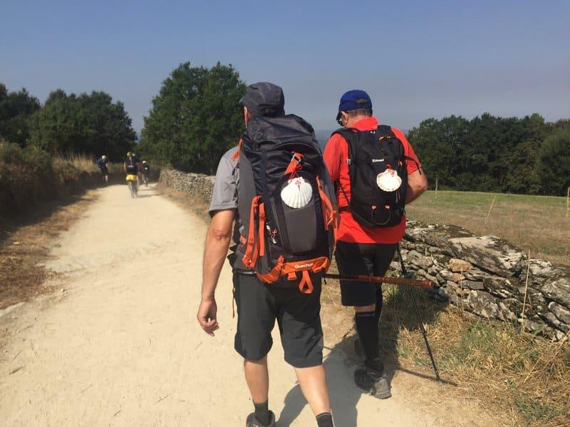 Como preparar el Camino de Santiago - Peregrinos a pie