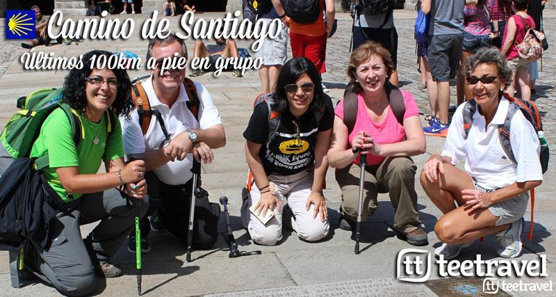 Camino de Santiago en Grupo últimos 100km