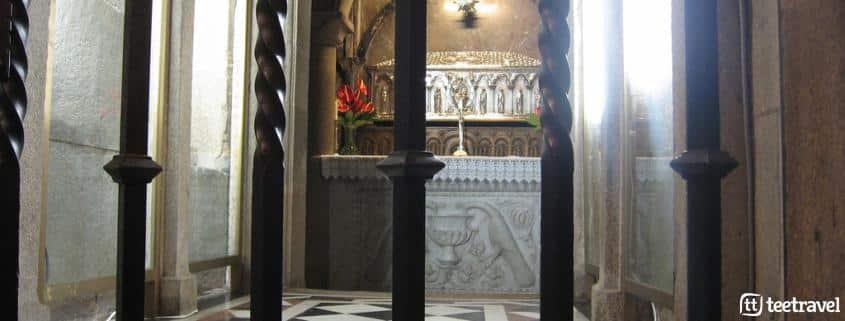 Orígenes e historia del Camino de Santiago - Tumba del Apóstol en la Catedral © Alejando Moreno Calvo