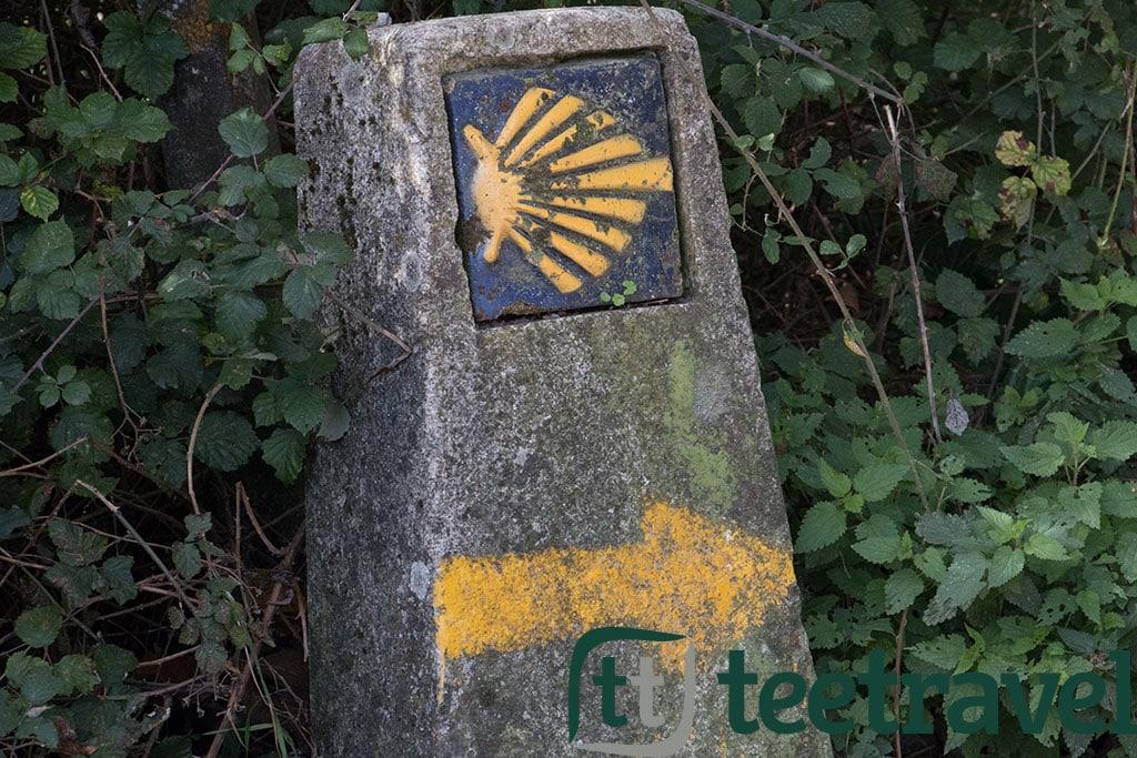 Camino de santiago se alizaci n y el rastro del peregrino Casa amarilla santiago