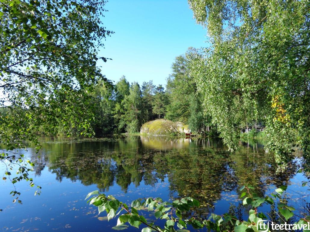 Fiordos Noruegos Ciudad de Drammen Viaje en Bicicleta Oslo