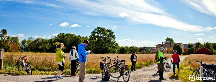 Fiordo de Oslo Fiordos Noruegos Viaje en bicicleta Viaje en familia