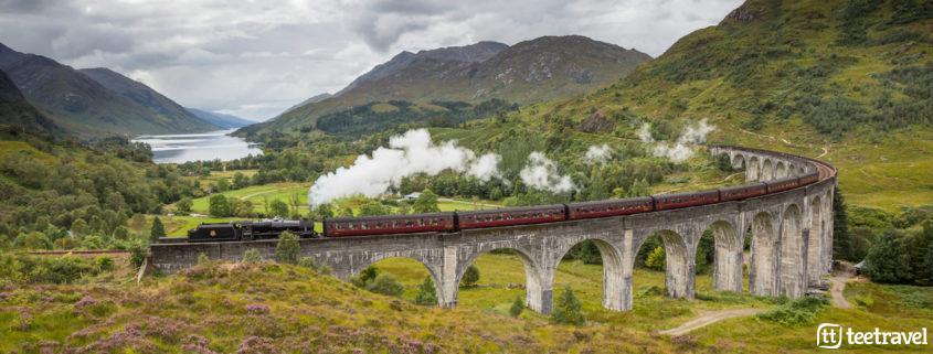 Viaducto de Glenfinnan - Tren de Harry Poter © VisitScotland
