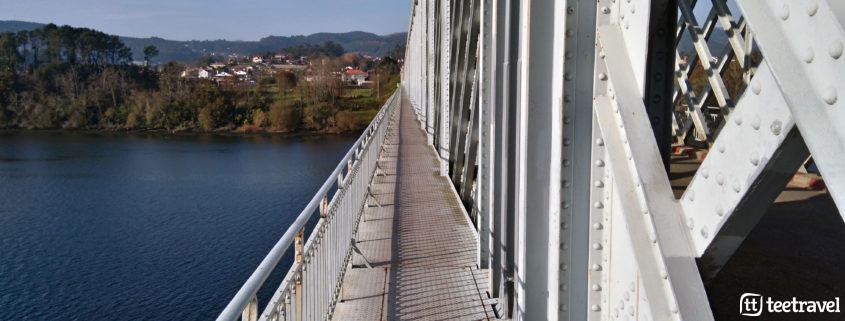 Puente Internacional Frontera Portugal-Galicia
