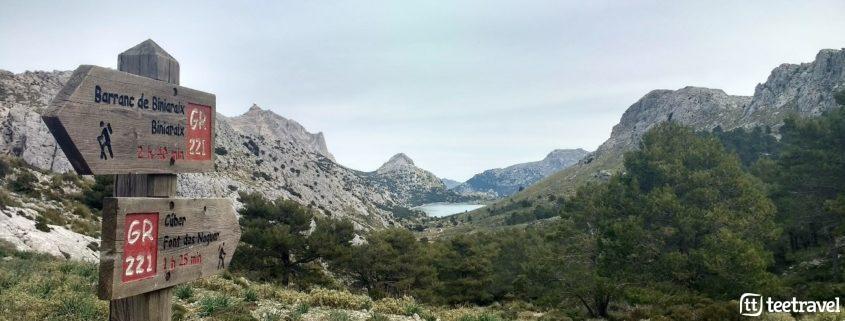 Otoño también es Mallorca en Serra de Tramuntana - Embalse de Cúber