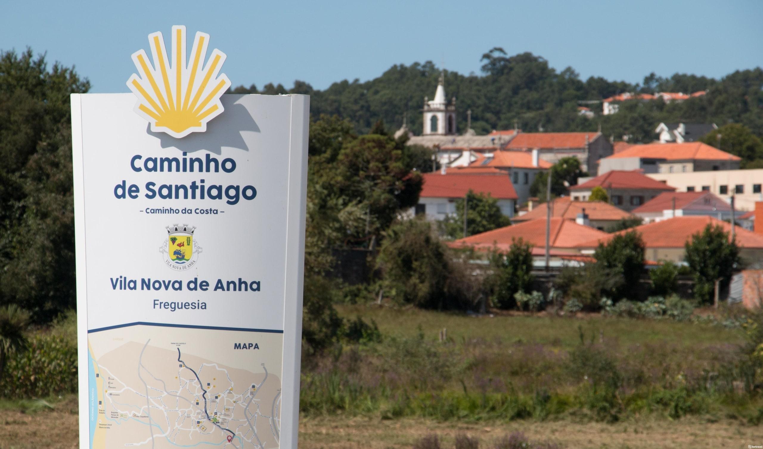 Camino Portugués por la Costa - Vila Nova de Anha - Portugal