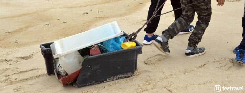 Día Mundial del medio ambiente - Camino Clean y la recogida de plástico en Costa da Morte
