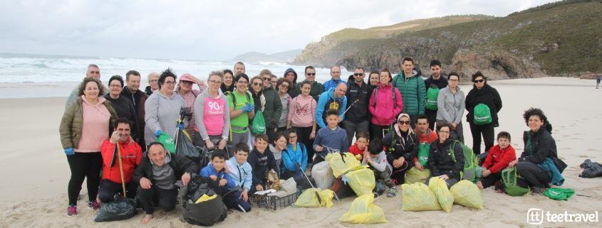 Segunda edición de Camino Clean- Participantes al finalizar la caminata