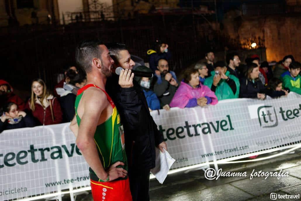 Iván Roade a su llegada a la meta-© Juanma Fotografía