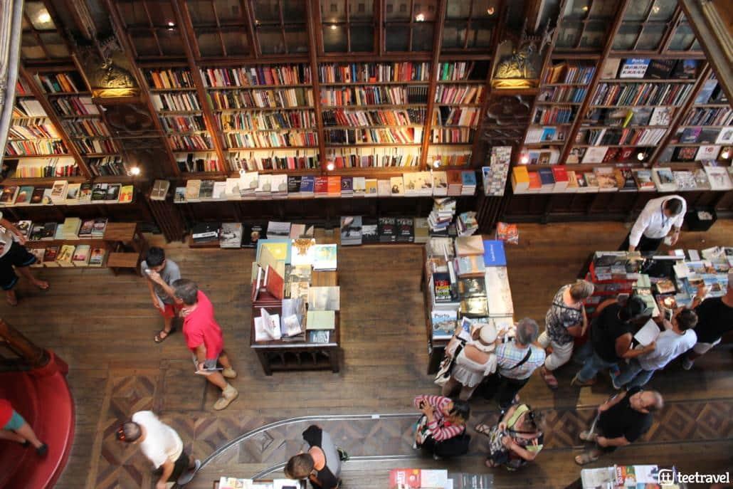 Camino Portugués desde Oporto - Librería Lello