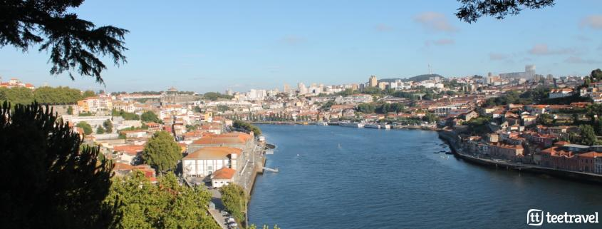 Camino Portugués desde Oporto - Río Douro y Vilanova de Gaia