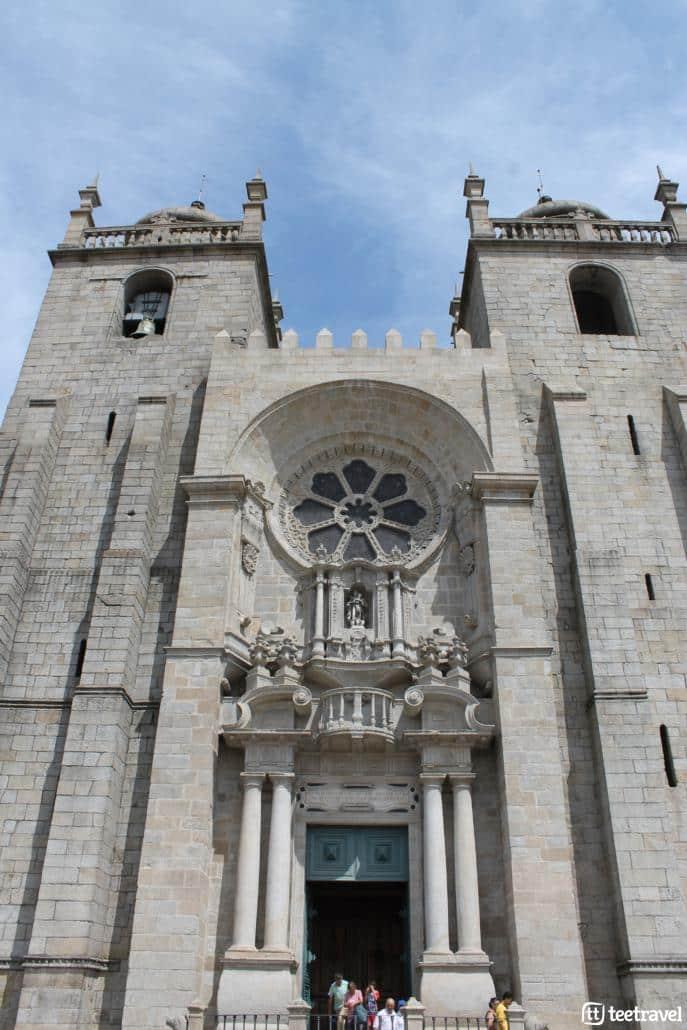 Camino Portugues desde Oporto-Catedral de Oporto
