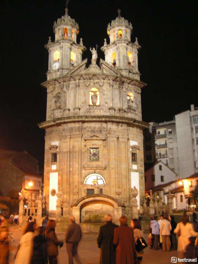 La Variante Espiritual- Iglesia de la Peregrina en Pontevedra