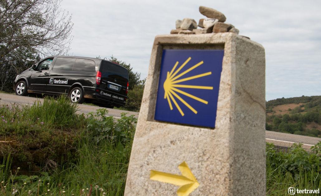 Camino Portugués en grupo organizado- Coche de apoyo