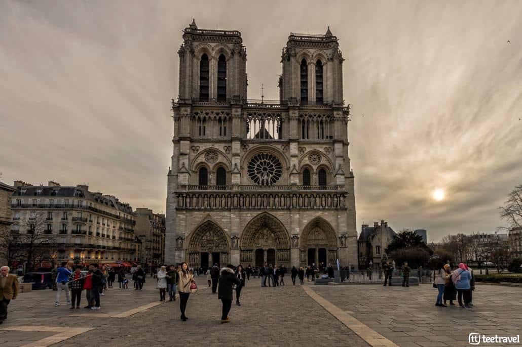 Avenue Verte: París y Londres en un mismo viaje- Catedral de Notre Dame