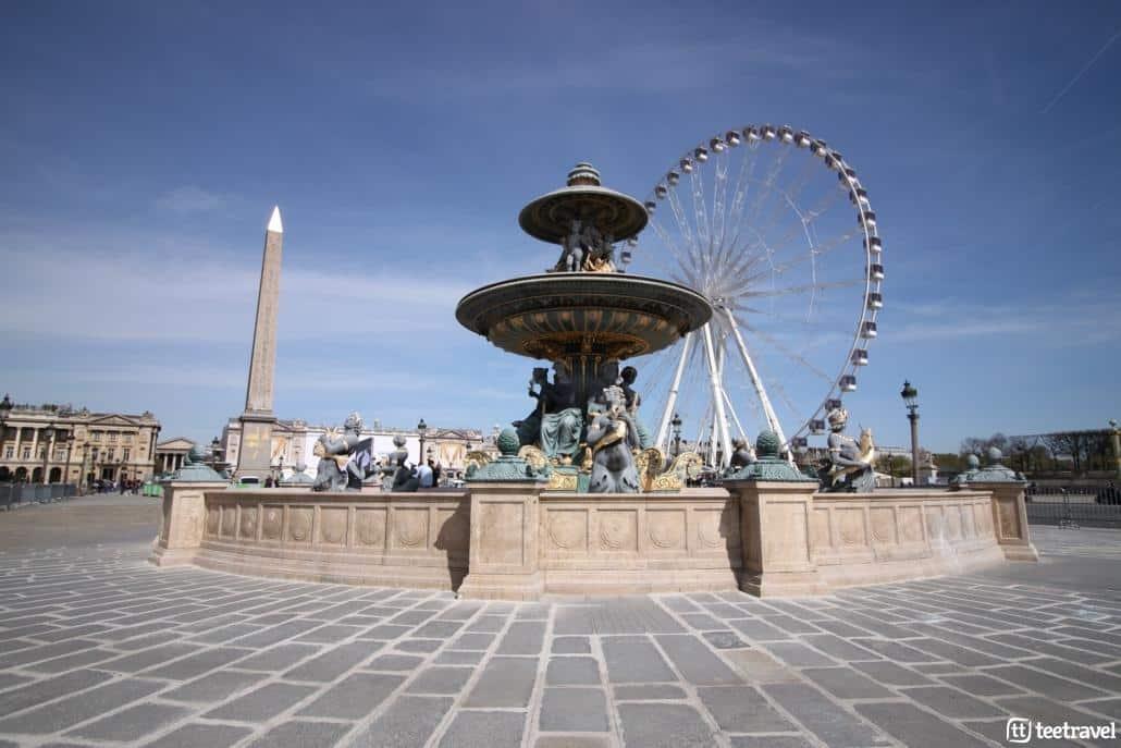 Avenue Verte: París y Londres en un mismo viaje- Plaza de la Concordia