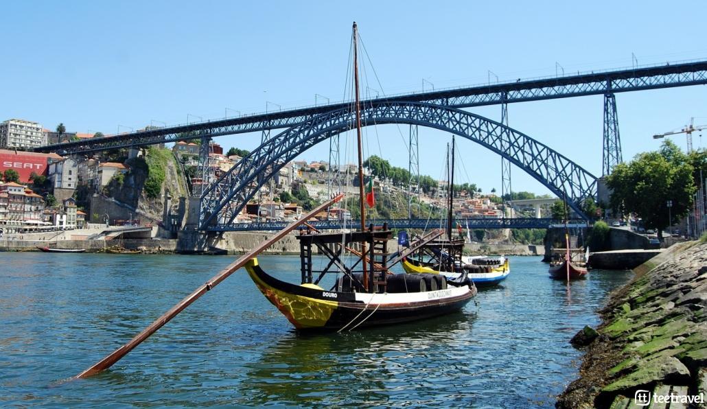 Camino Portugués desde Oporto - Ponte de D. Luis I