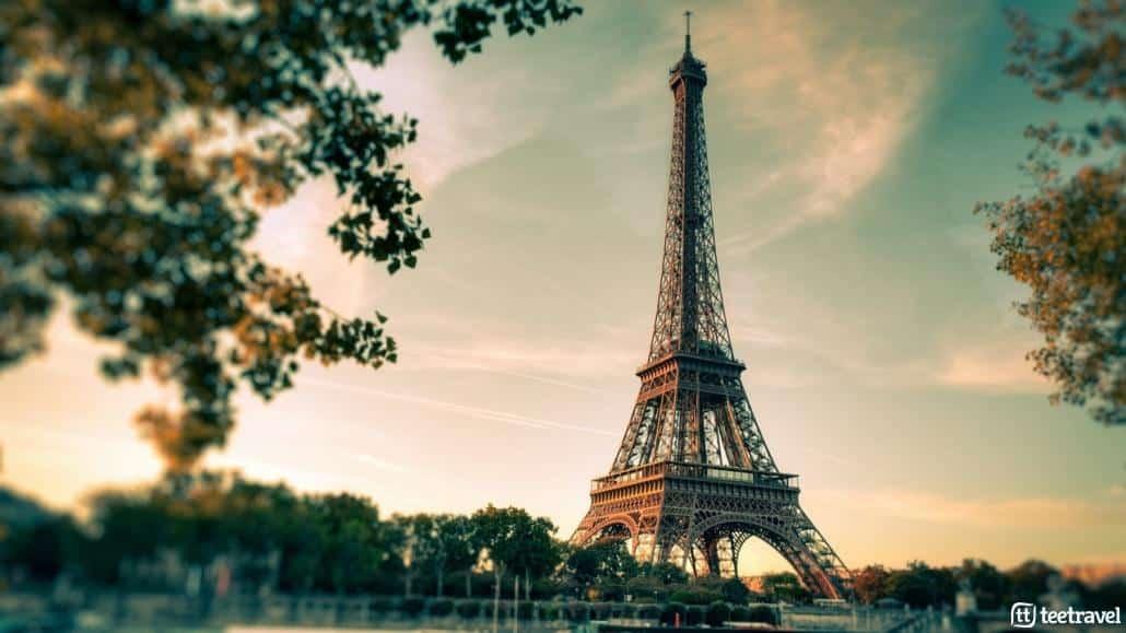 Avenue Verte: París y Londres en un mismo viaje- La Torre Eiffel se ha convertido en un símbolo de la ciudad