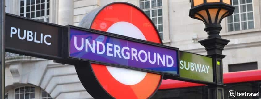 Avenue Verte: París y Londres en un mismo viaje- El metro de Londres tiene más de 150 años de historia