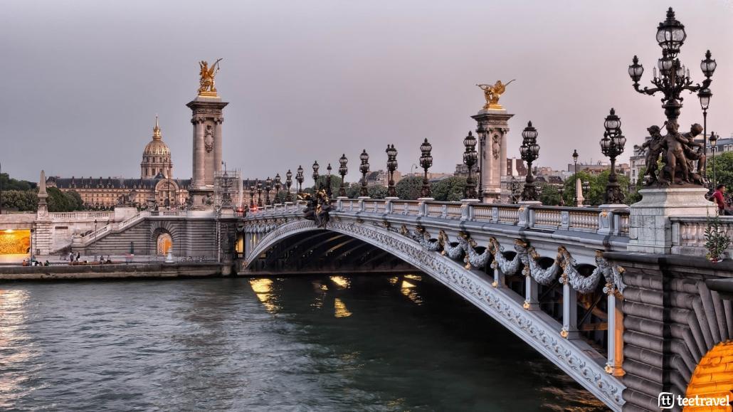 Avenue Verte: París y Londres en un mismo viaje- Puente de Alexandre III