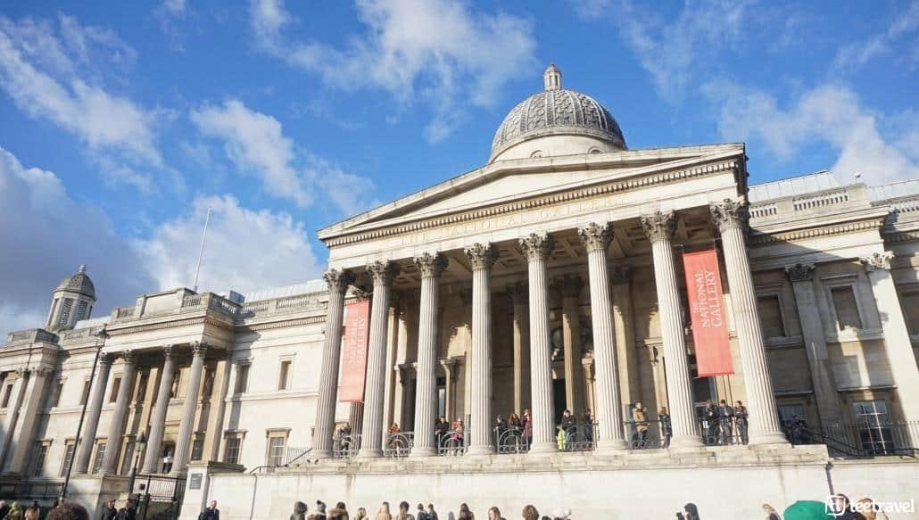 Avenue Verte: París y Londres en un mismo viaje- The National Gallery es uno de los museos de arte más importantes del mundo