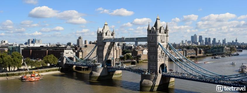 Avenue Verte: París y Londres en un mismo viaje- Tower Bridge