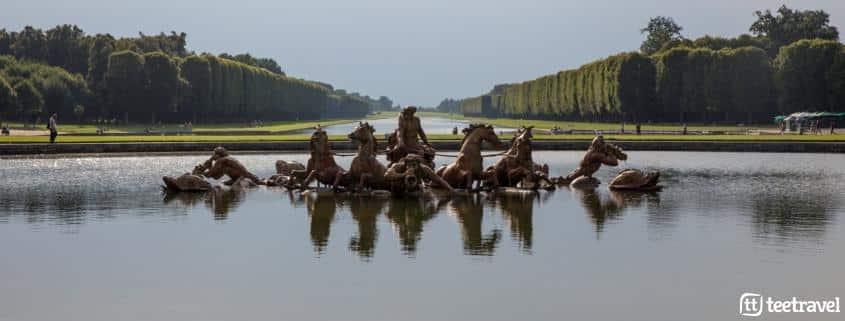 Avenue Verte: París y Londres en un mismo viaje- Jardines del Palacio de Versalles