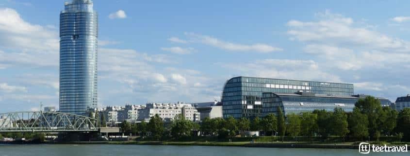 Viena y la música clásica- El río Danubio a su paso por Viena
