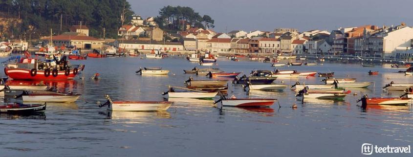 Planes de ocio para este verano en Galicia- Puerto de la Illa de Arousa