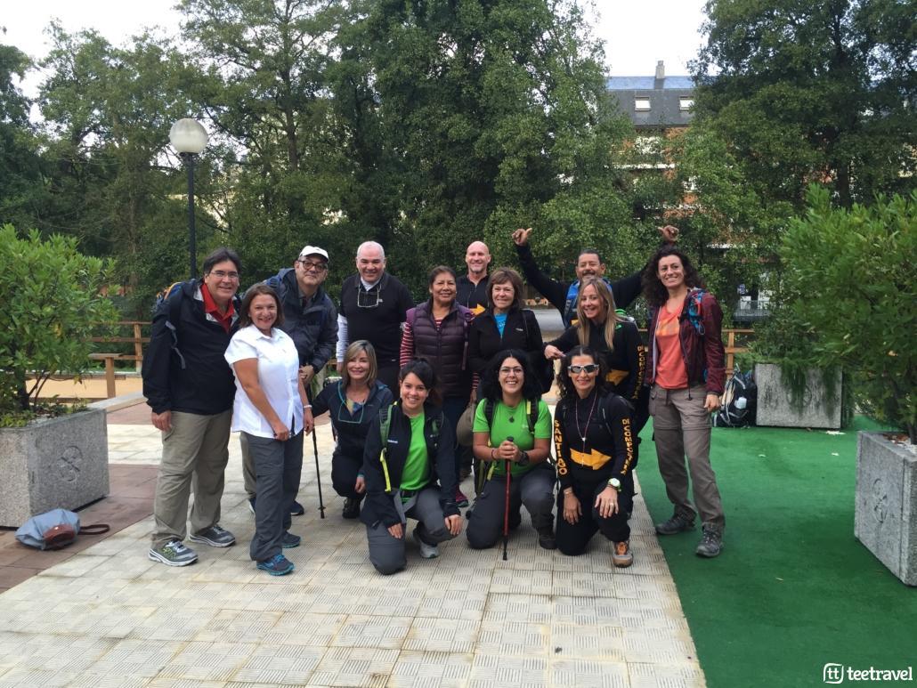Camino de Santiago en grupo organizado- Grupo con guías de Tee Travel