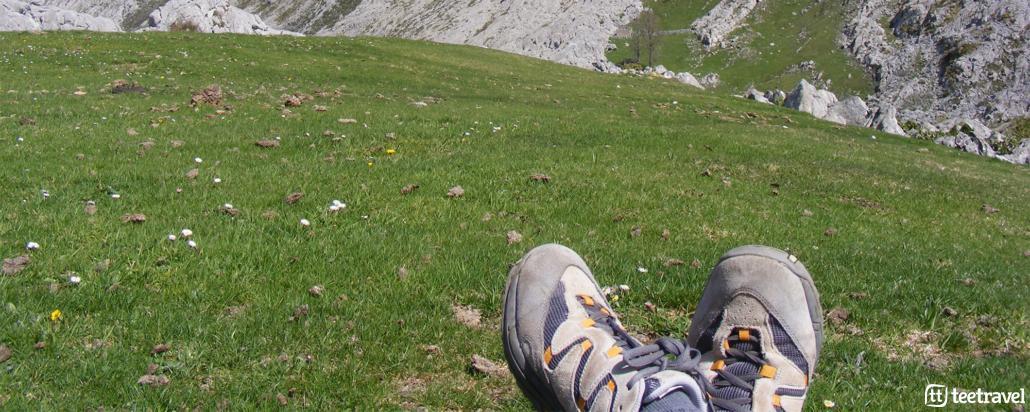 Cuidado de pies en el Camino de Santiago - Tee Travel