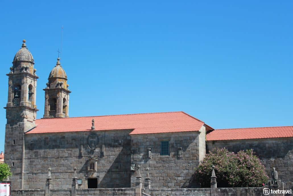 Cambados, la capital del albariño- Iglesia de San Benito