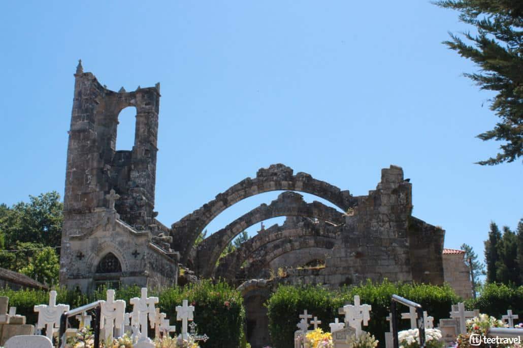 Cambados, la capital del albariño- Santa Mariña de Dozo