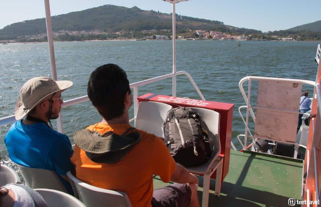 Camino Portugués por la Costa - Ferry entre Portugal y España