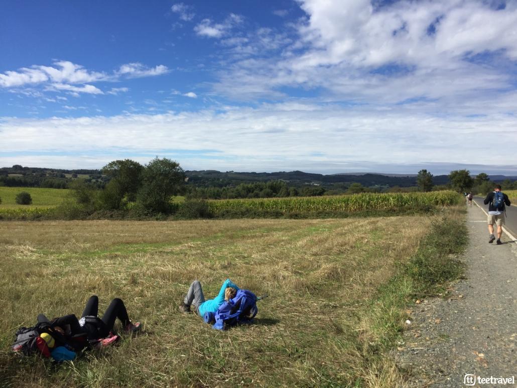 Camino de Santiago: Consejos- Haz pequeños descansos