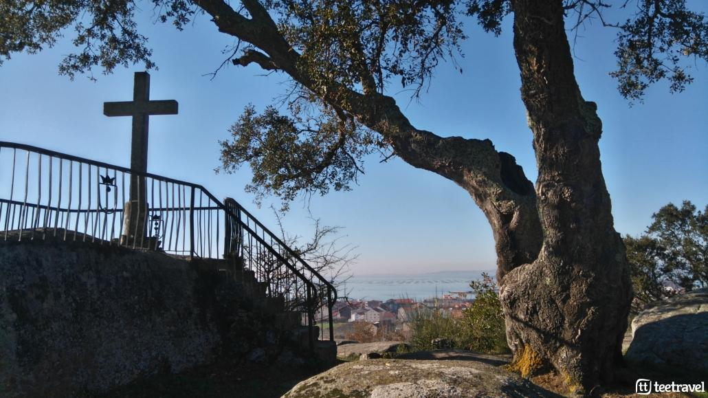 Cambados, capital del albariño- Vistas desde el mirador de A Pastora