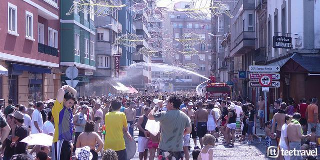 Fiestas en agosto en Galicia: fiesta del Agua en Vilagarcía de Arousa