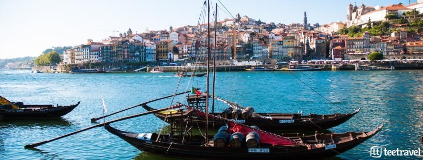 10 cosas que no puedes perderte en el Camino Portugués - Barcas clásicas de transporte de vinho Porto