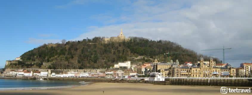 De San Sebastián a Bilbao por el Camino del Norte - Playa de la Concha
