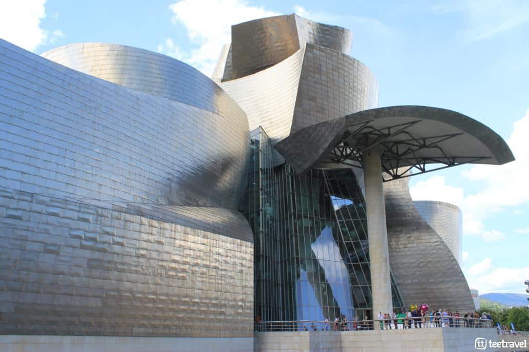 De San Sebastián a Bilbao por el Camino del Norte - Museo Guggenheim