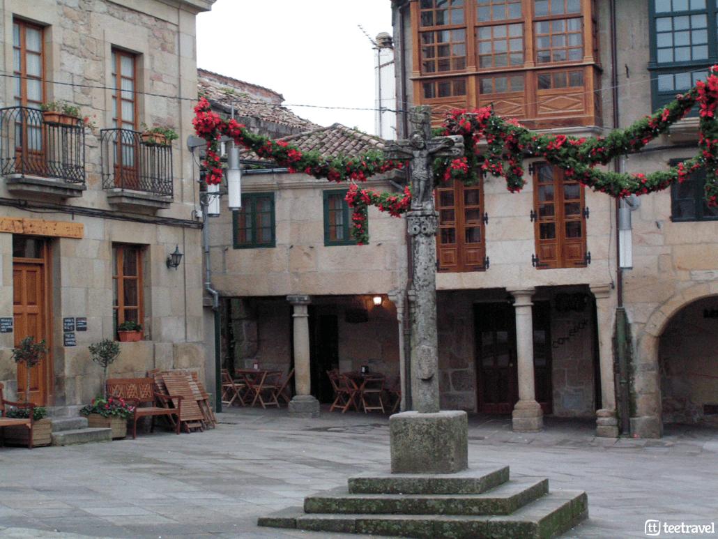 10 cosas que no puedes perderte en el Camino Portugués - Plaza de la Leña, Pontevedra