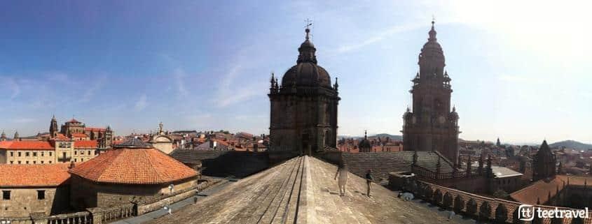 10 cosas que no puedes perderte en el Camino Portugués - Tejados de la Catedral de Santiago By Michele Abagnale