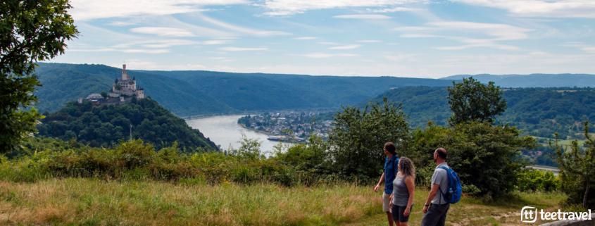 Rheinsteig senderismo entre viñedos, castillos y leyendas
