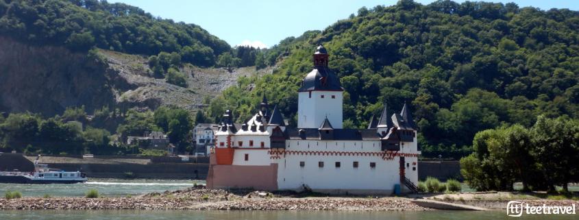 Los castillos del Rheinsteig - El Castillo Pfalzgrafenstein