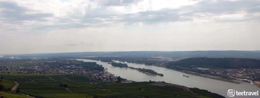 Rheinsteig: senderismo entre viñedos- Rüdesheim y su paisaje vitinícola