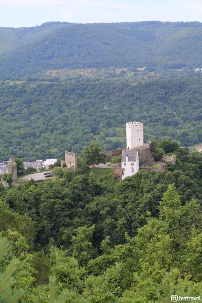 Leyendas en el Rheinsteig: los castillos enfrentados