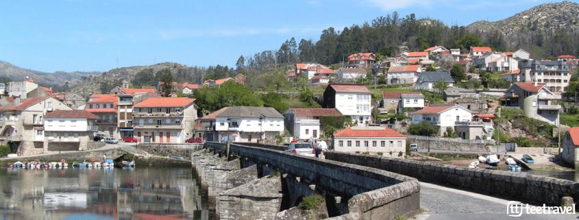 10 cosas que no puedes perderte en el Camino Portugués - Puente de Pontesampaio