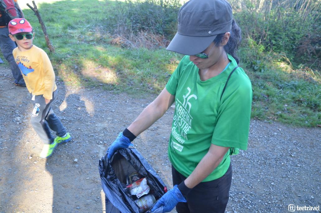 Consejos para que tu Camino sea un éxito: basura encontrada en el Camino! evista ensuciar,recoge tus residuos