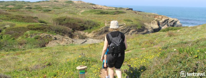 Rota Vicentina y sus dos senderos : Trilho dos Pescadores - importante seguir el sendero señalizado